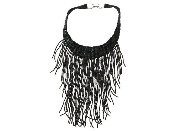 Colliers Dior Colliers Autre Noir ref.244702