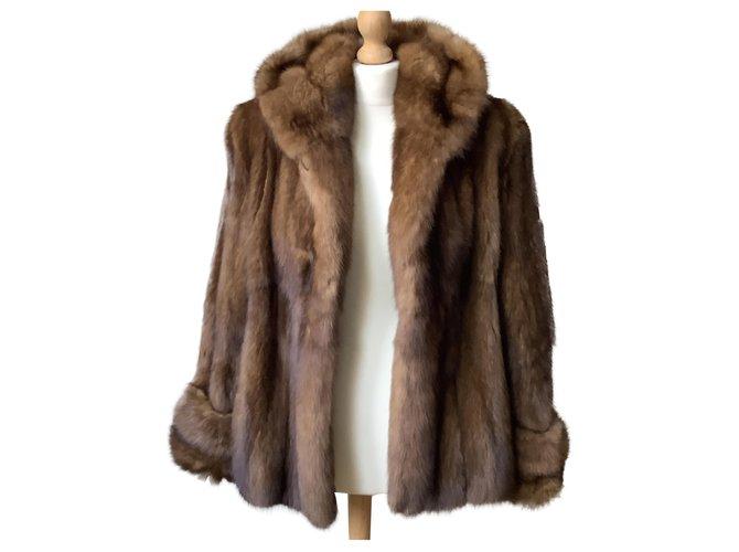 Rebecca Coats, Outerwear Brown Fur  ref.247093