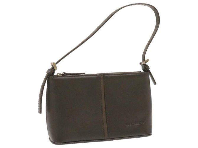 Burberry Burberry Shoulder bag Handbags Leather Brown ref.247145