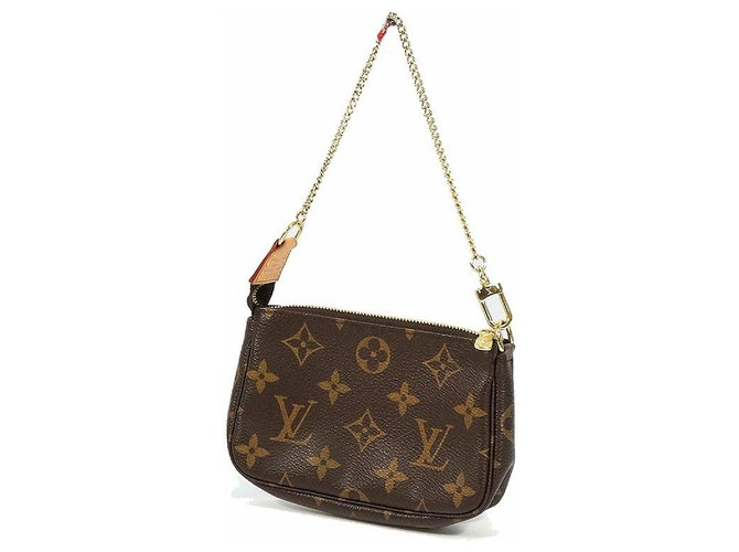 Louis Vuitton LOUIS VUITTON accessories pouch Mini Pochette Accessoires Womens pouch M58009 Purses, wallets, cases Cloth Other ref.247309