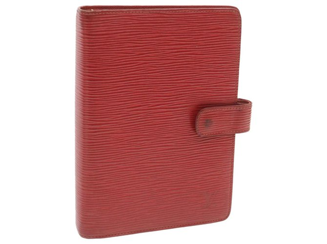Louis Vuitton Louis Vuitton Agenda Cover Purses, wallets, cases Leather Red ref.247924