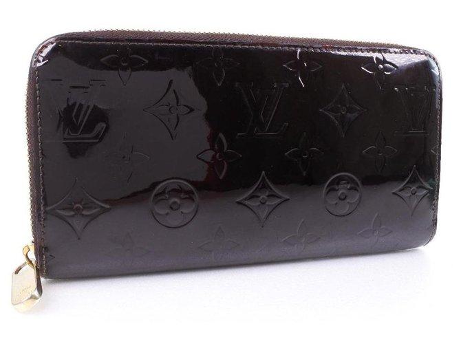 Louis Vuitton Louis Vuitton Zippy Wallet Purses, wallets, cases Patent leather Red ref.250143