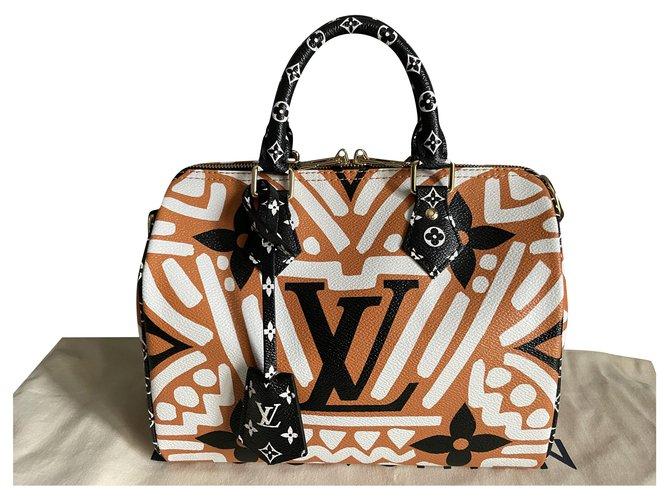 Louis Vuitton Speedy 25 Crafty Louis Vuitton New shoulder strap Handbags Cloth Other ref.250237