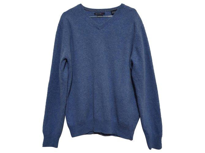 Autre Marque Rover & Lakes Sweaters Cashmere Blue ref.251359