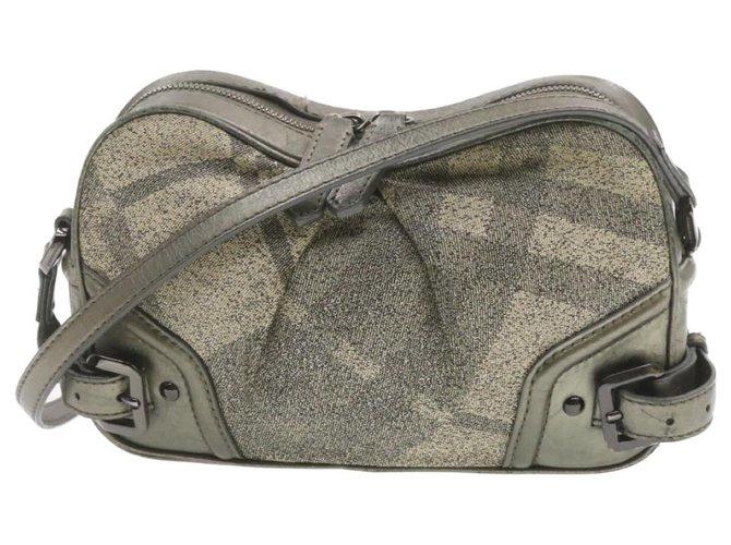 Burberry Burberry Shoulder bag Handbags Synthetic Grey ref.251991