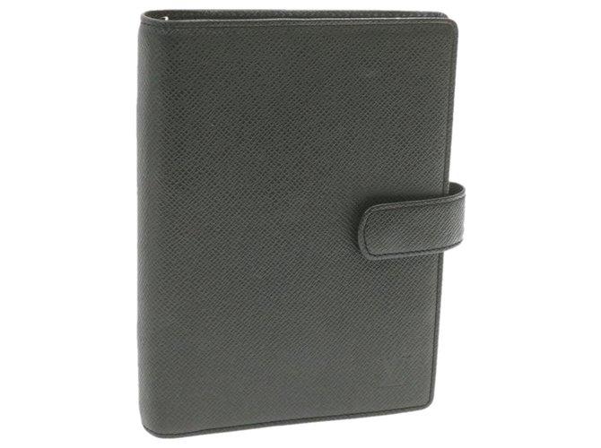 Louis Vuitton Louis Vuitton Agenda Cover Purses, wallets, cases Leather Black ref.252364