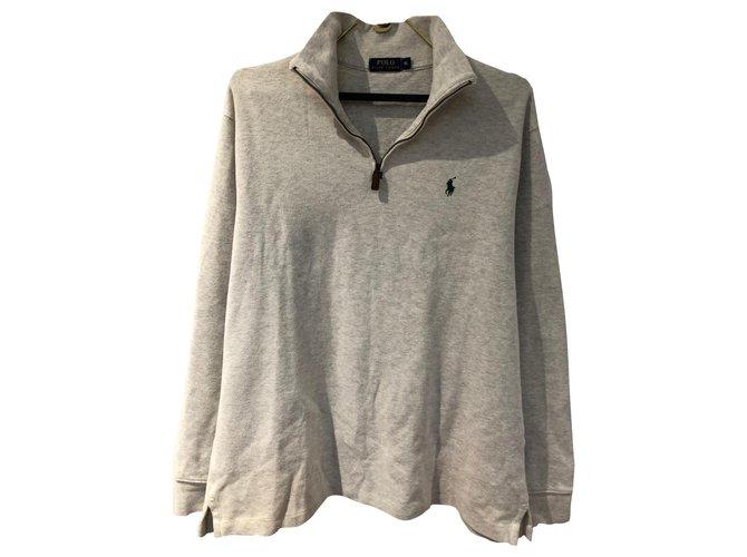 Ralph Lauren Ralph Lauren sweater Sweaters Cotton Eggshell ref.252547