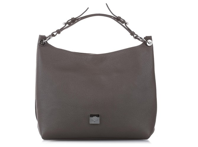 Mulberry Mulberry Brown Freya Leather Satchel Handbags Leather,Pony-style calfskin Brown ref.252663