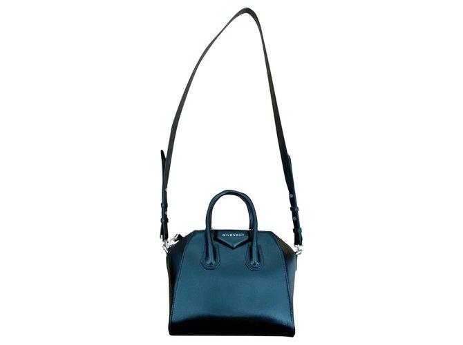 Givenchy Antigona Handbags Leather Black ref.253589