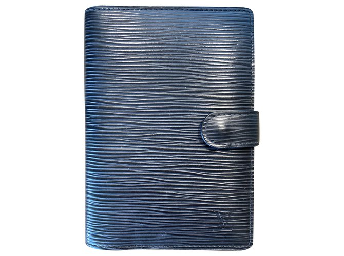 Louis Vuitton Planner cover PL Epi leather Purses, wallets, cases Leather Black ref.254137
