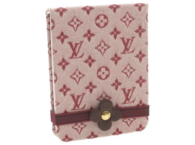 Louis Vuitton Louis Vuitton wallet Purses, wallets, cases Cloth Red ref.257122