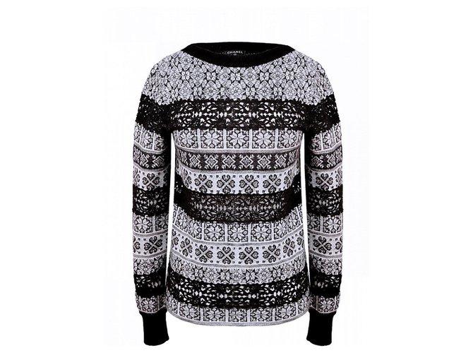 Chanel Paris-Rome Runway sweater Knitwear Cashmere Multiple colors ref.257644