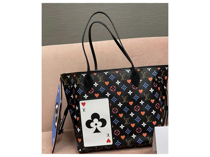 Louis Vuitton LV Neverfull Game ON Multiple colors Leather  ref.236309