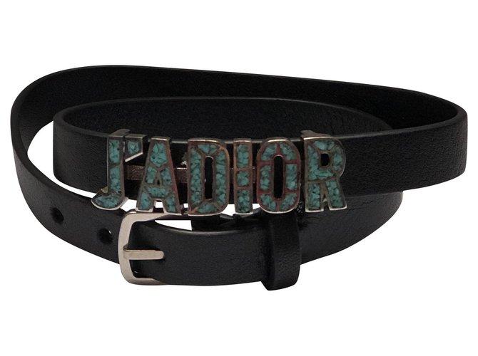 Bracelets Dior J adior Cuir Multicolore ref.259663