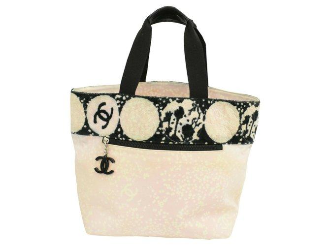 Chanel Chanel handbag Handbags Cloth Pink ref.261684