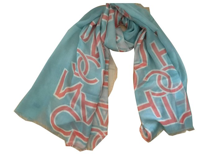 Chanel STOLE CHANEL CASHMERE Scarves Cashmere Other ref.262255