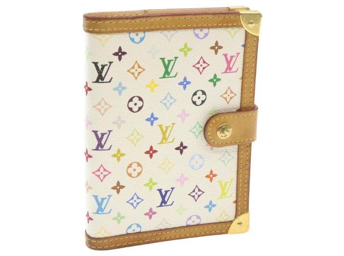 Louis Vuitton Louis Vuitton Agenda Cover Purses, wallets, cases Cloth White ref.262335