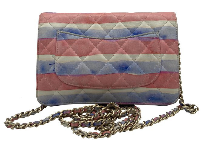 Chanel Chanel watercolour wok 2009-2010 Handbags Leather Multiple colors ref.263205