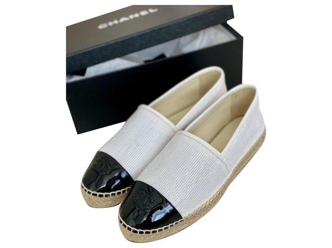 Chanel Espadrilles Espadrilles Other White ref.263465