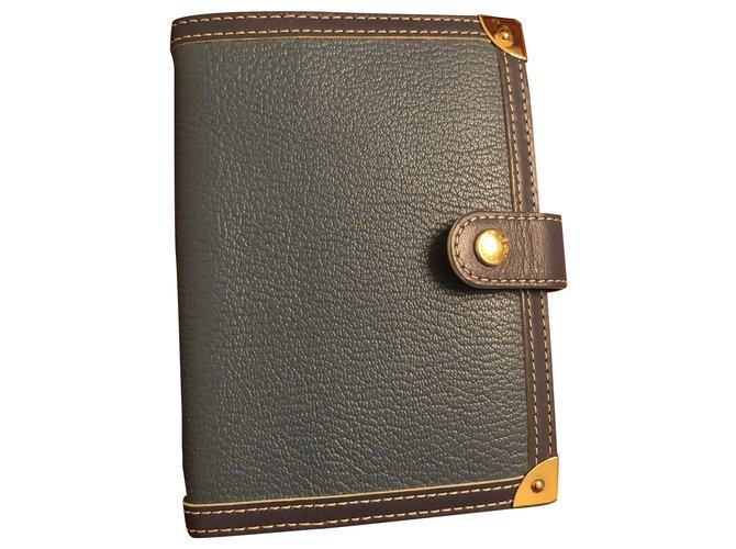 Louis Vuitton Purses, wallets, cases Purses, wallets, cases Leather Blue ref.263663