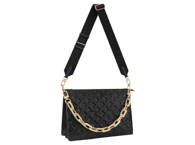 Louis Vuitton LV Coussin Handbags Leather Black ref.263678