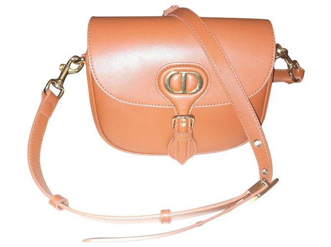 Christian Dior Dior Bobby Bag 30 Montaigne Wallets Fur Caramel ref.263724
