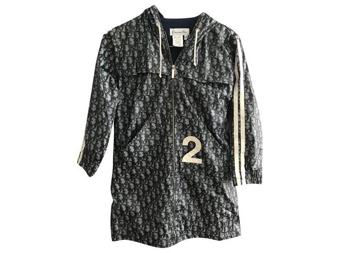 Dior Girl Coats outerwear Girl Coats outerwear Polyester Blue ref.265315