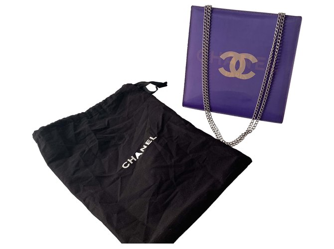 Chanel Handbags Handbags Other Purple ref.267031
