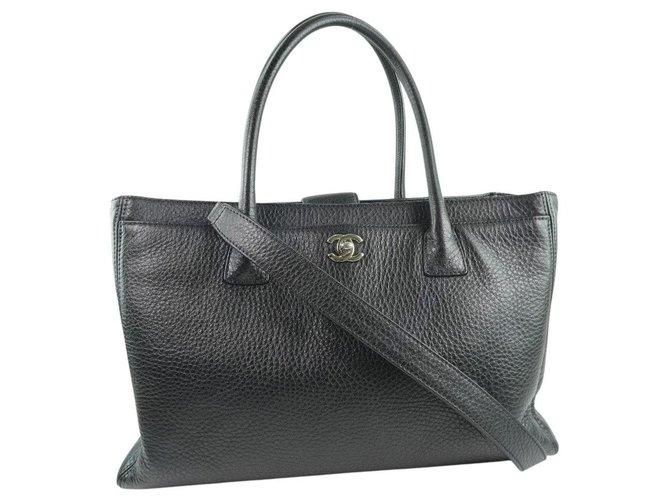 Chanel Executive cerf Black Pony-style calfskin  ref.267176