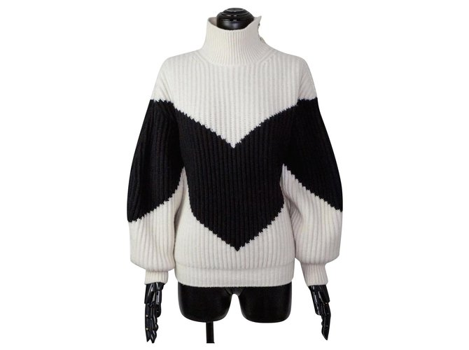 Chanel Oversized Sweater Knitwear Cloth Multiple colors ref.269943