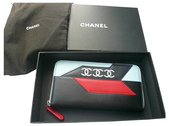 Chanel CHANEL New Zipped Companion Wallet VP Leather Wallets Leather Multiple colors ref.272772