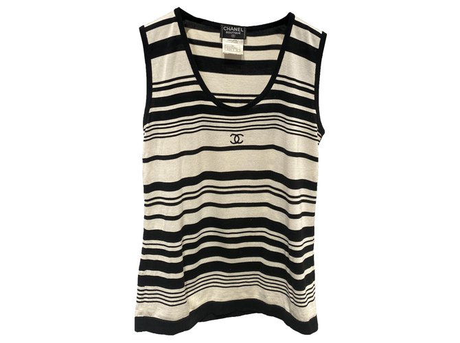 Chanel Tops Tops Cotton Multiple colors ref.273017