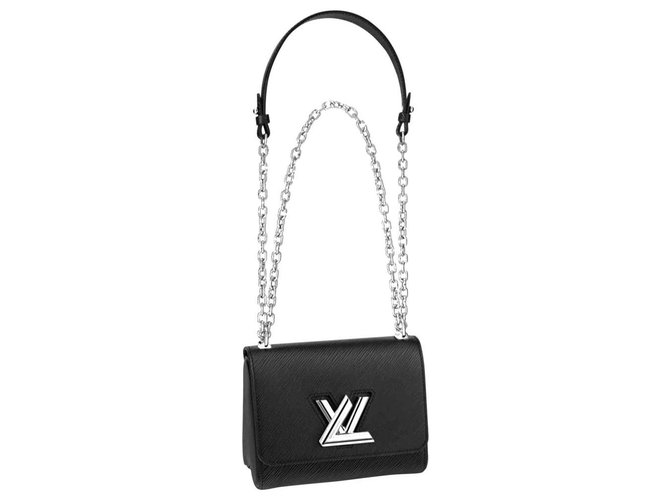 Louis Vuitton Twist PM bag with blister NEW WITH LABELS Black Leather  ref.273324