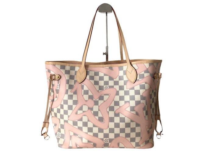 Louis Vuitton Louis Vuitton Neverfull Les Tahitiennes Handbags Cloth Multiple colors ref.273501