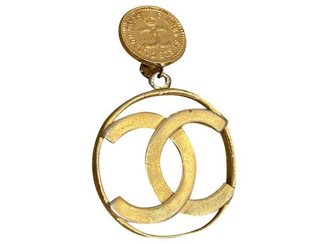 Chanel Earrings Earrings Metal Golden ref.273848