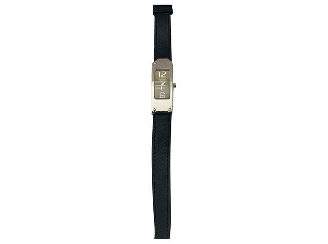 Hermès Kelly 2 Black Steel  ref.274131