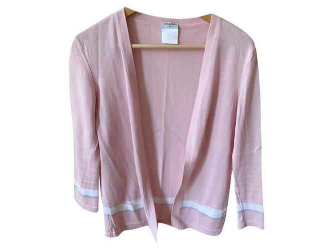 Chanel Knitwear Knitwear Cotton Multiple colors ref.274223