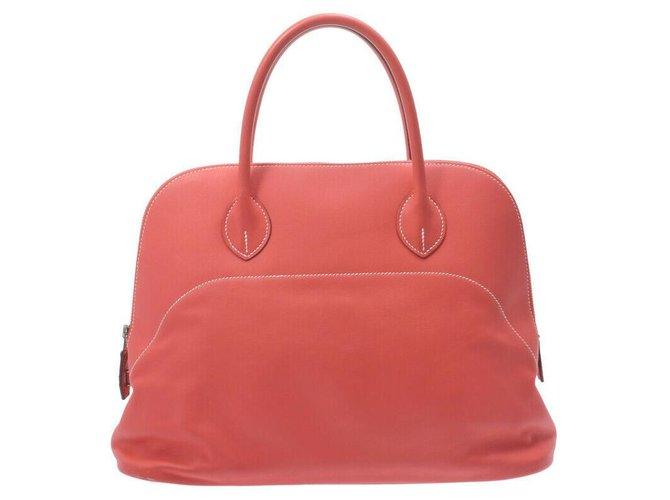 Hermès Hermes Bolide Handbags Pony-style calfskin Pink ref.275507
