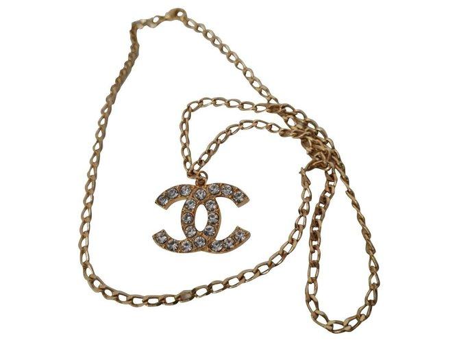 Chanel Necklaces Necklaces Metal Golden ref.276049