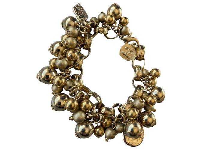 Chanel Bracelets Bracelets Metal Golden ref.277076