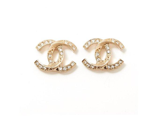 Chanel Chanel CC earring Earrings Metal Golden ref.277134