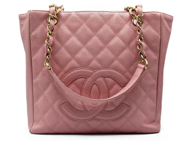 Chanel Handbags Handbags Leather Pink ref.277495