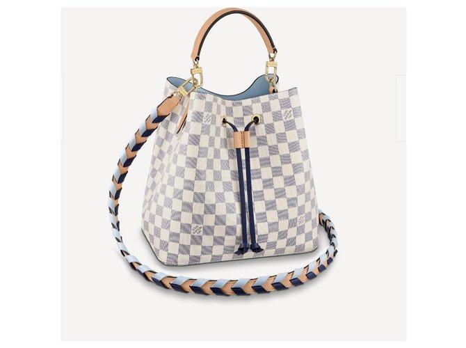 Louis Vuitton LV Neonoe Damier azur new Handbags Other Beige ref.278491