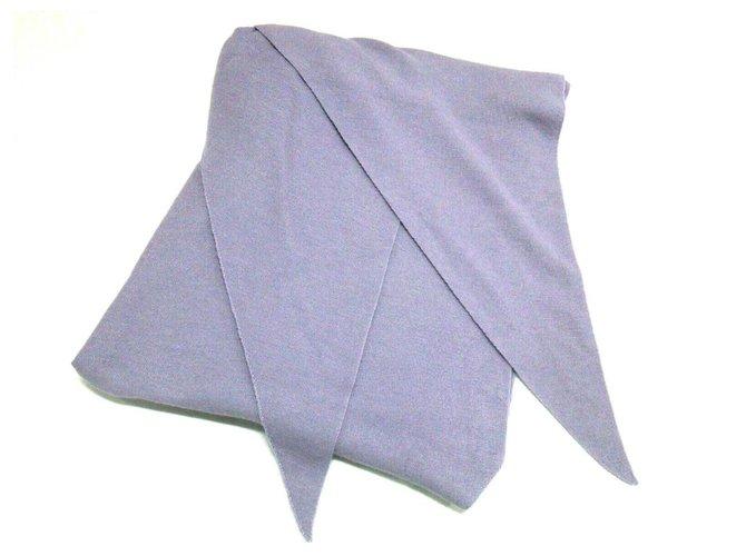 Hermès scarf Purple Wool  ref.282097