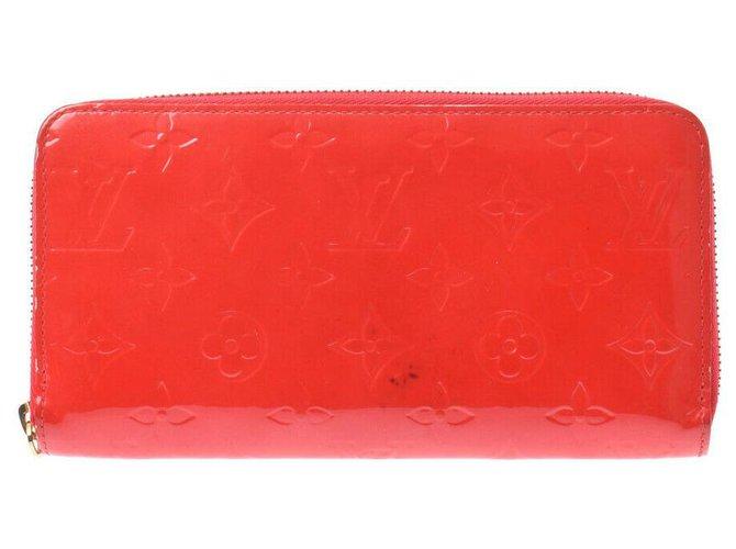 Louis Vuitton Louis Vuitton Zippy Wallet Purses, wallets, cases Patent leather Red ref.282596