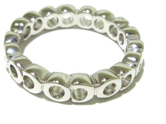 Chanel ring White gold  ref.310036