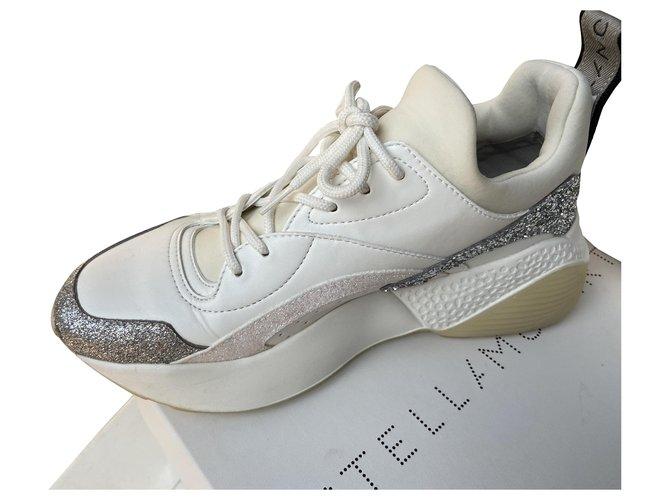 Stella Mc Cartney eclipse Sneakers Leatherette White ref.284770
