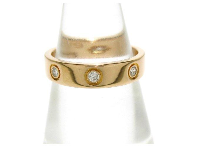 Bagues Cartier Cartier Love Or jaune Doré ref.285355