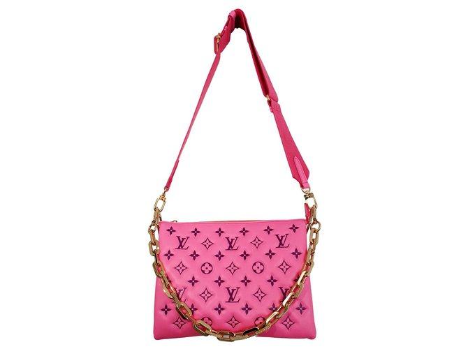 Louis Vuitton Cushion bag PM pink Vuittamine Leather  ref.286115