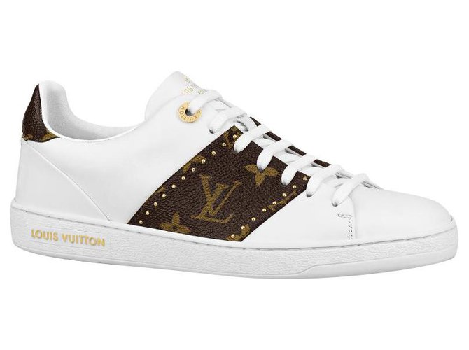 Louis Vuitton LV frontrow trainers new Sneakers Leather White ref.286126